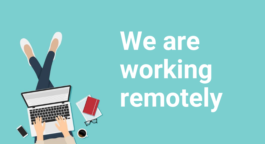 ATTENTION: Working remotely!